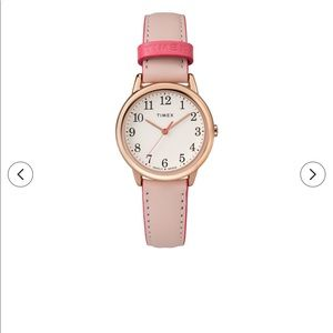 Timex pink indigo watch